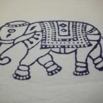 Elephant duvet.